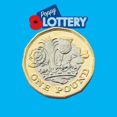 Play The Poppy Lottery For Only £1