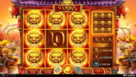 Lucky Player Wins €60,000 on Wazdan's 9 Lions Slot Game