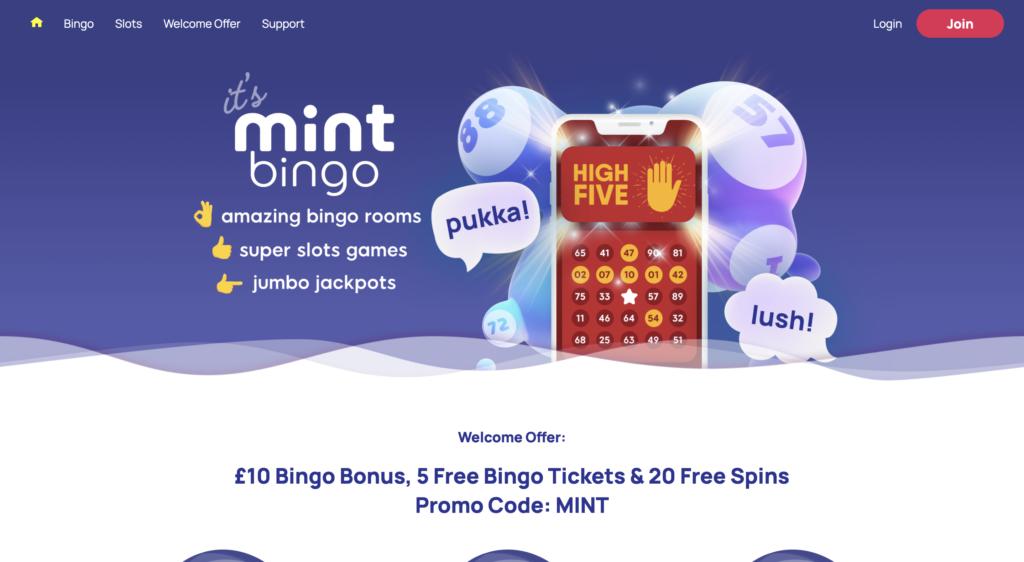 mint bingo review