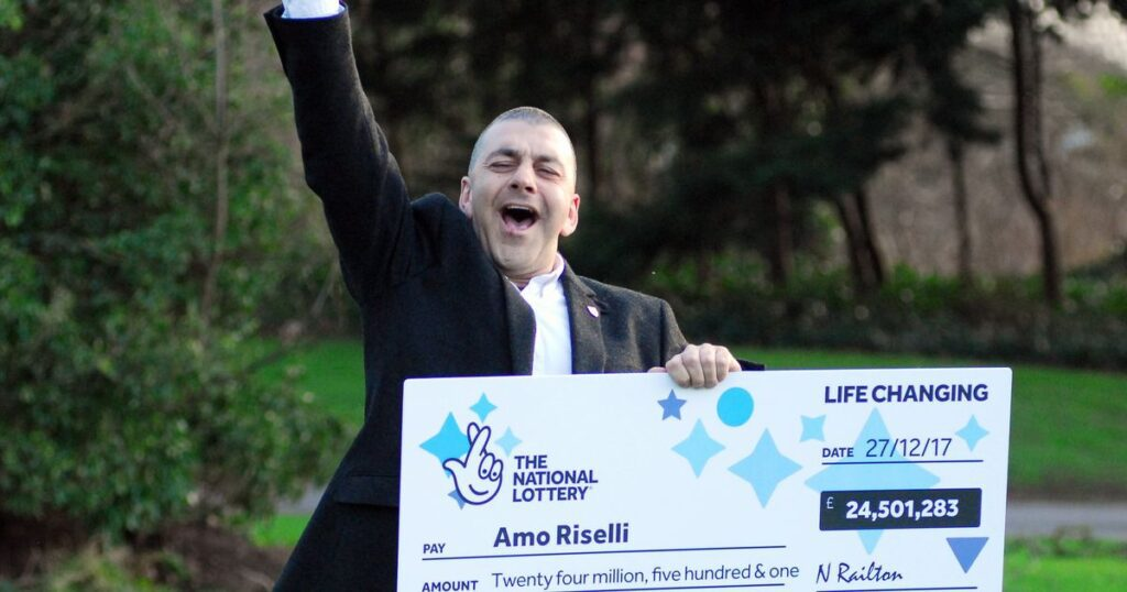 £24 Million Lotto Winner's Amazing Reaction