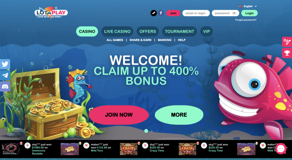 lotaplay casino review
