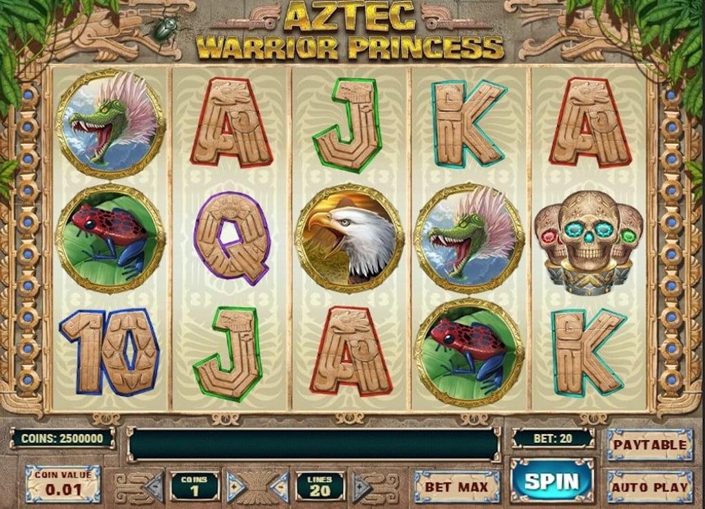 Aztec Slots - Aztec Warrior Princess