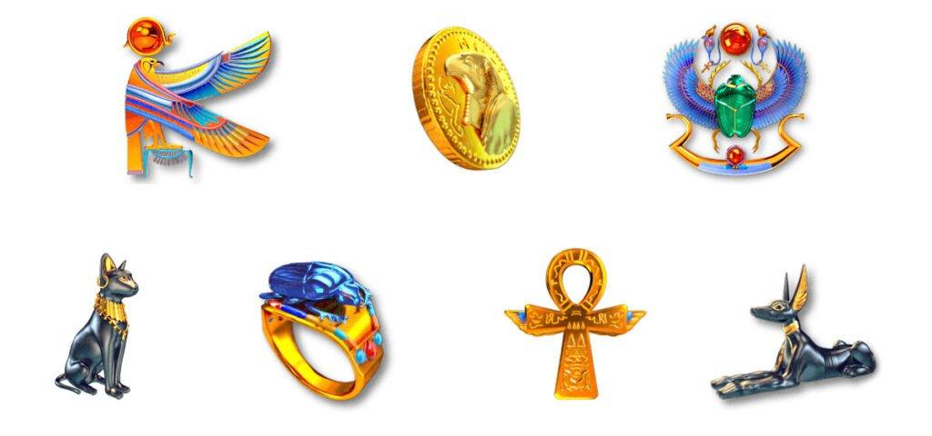 Egyptian Slots Symbols