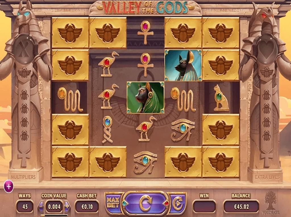 Pharaoh slots - Valley of the Gods
