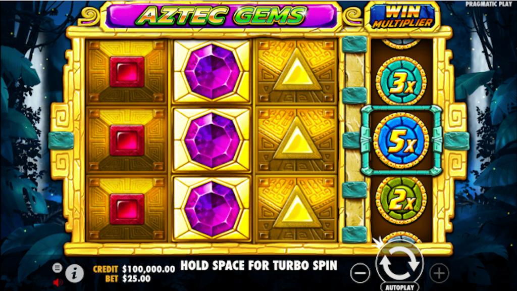 Aztec Slots - Aztec Gems