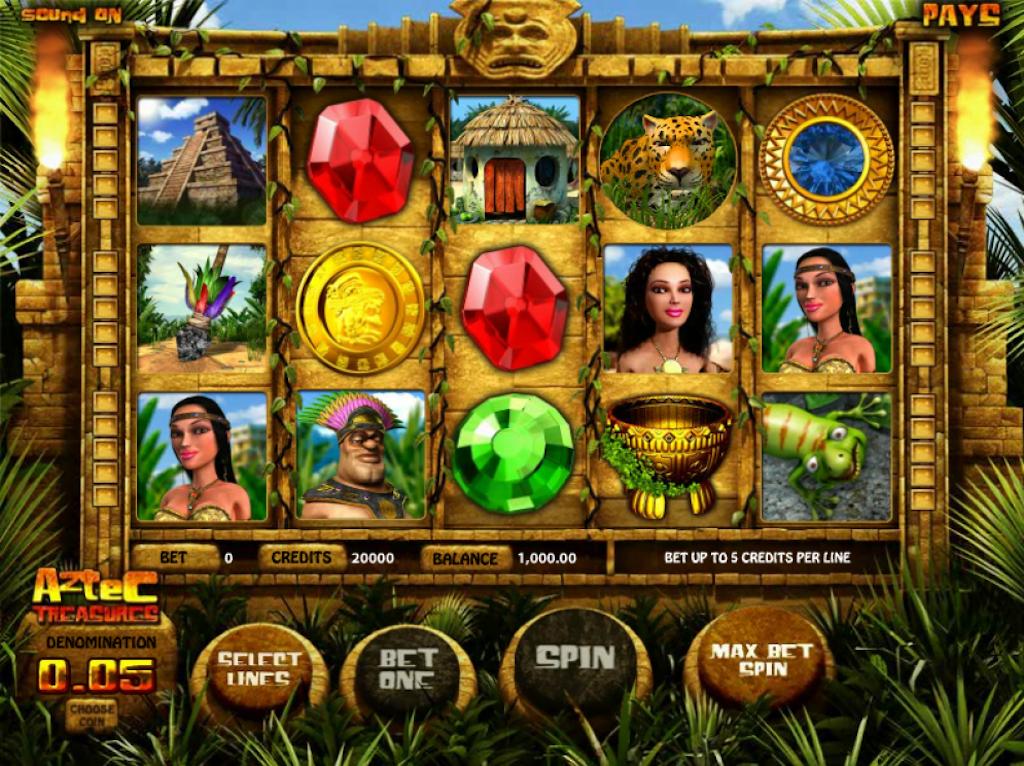 Aztec Slots - Aztec Treasures