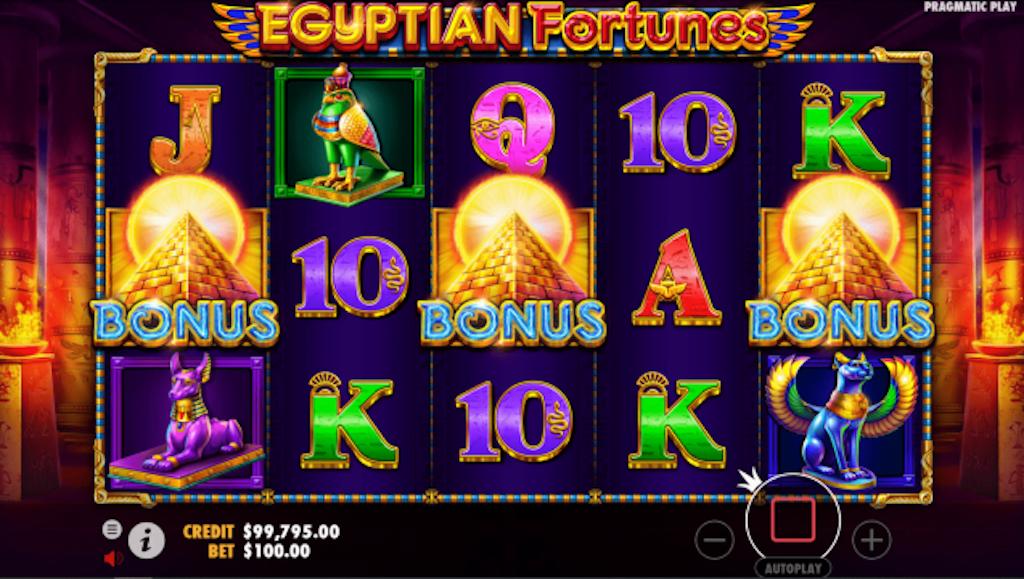 Pharaoh slots - Egyptian Fortunes