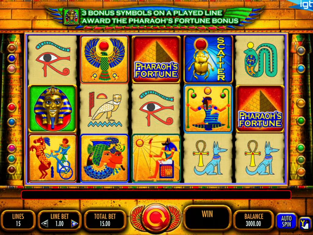 Pharaoh slots - Pharaoh's Fortune