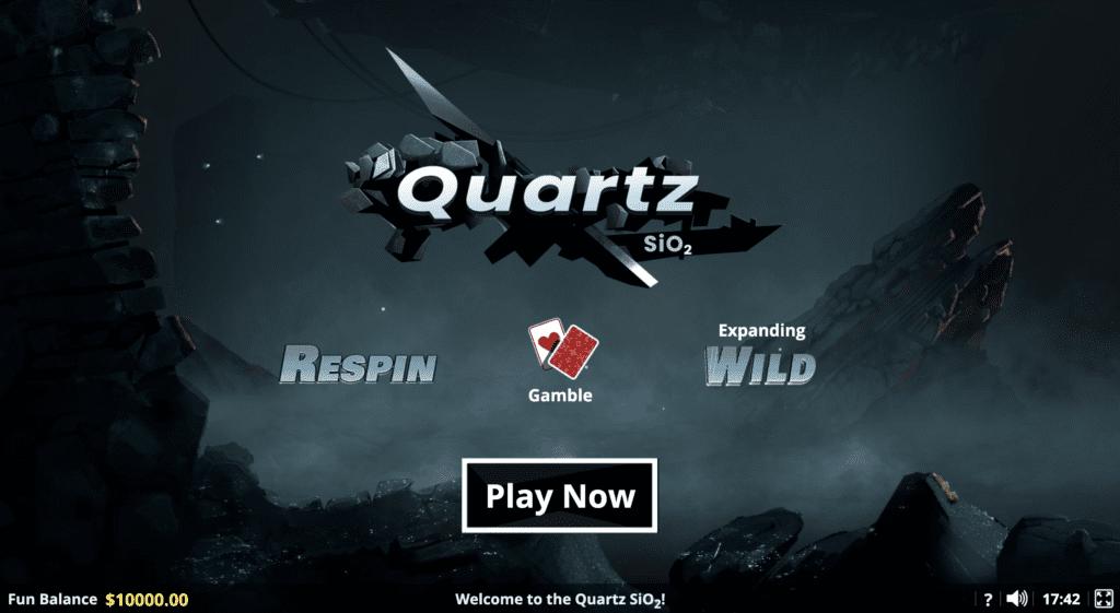 Quartz SiO2 Slot Game