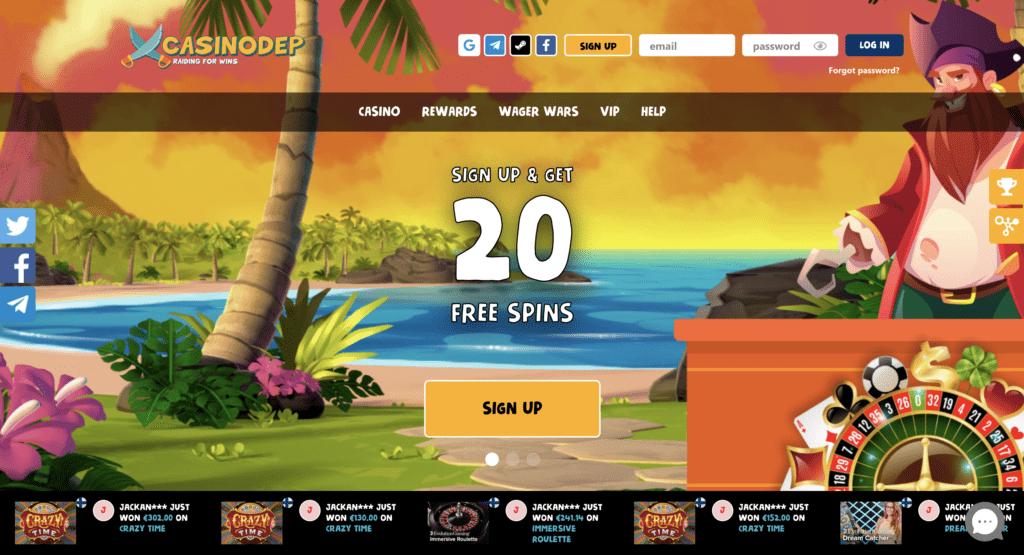 casinodep review
