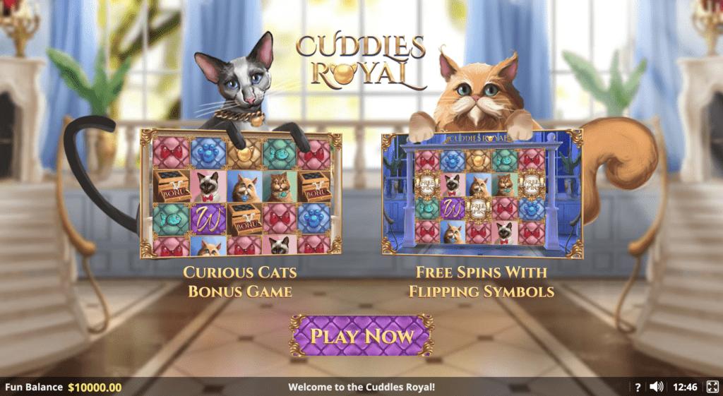 Cuddles Royal Slot Game