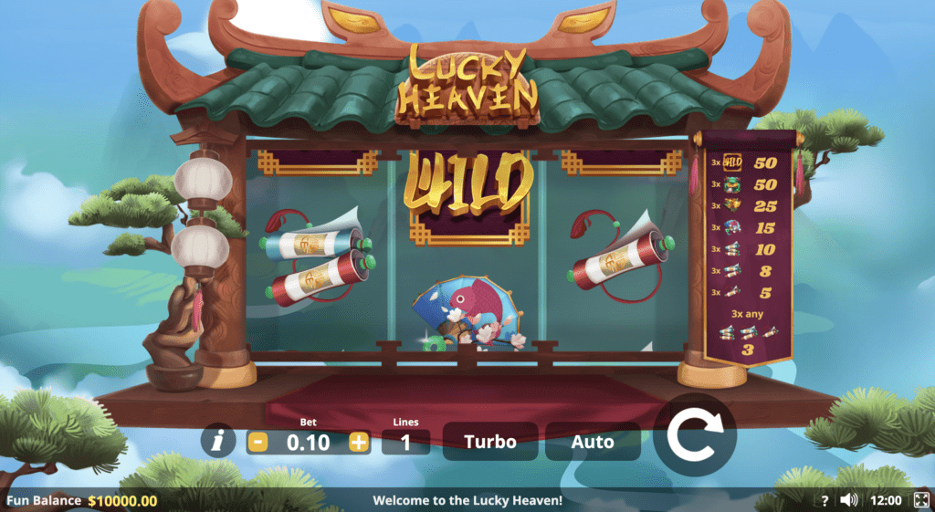 lucky heaven slot game