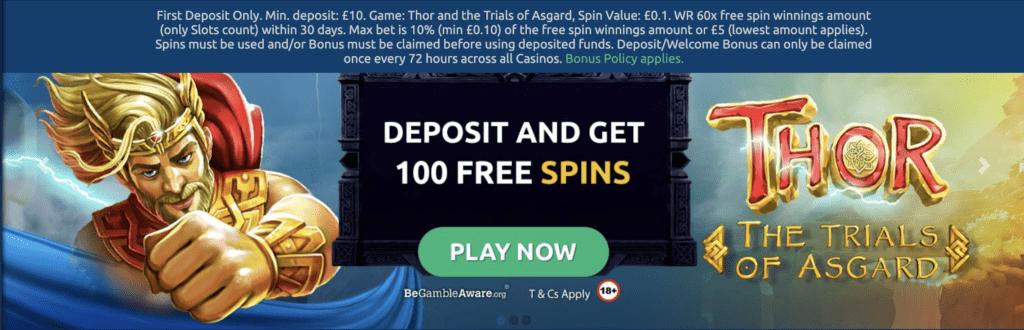 Turbonino FREE Spins Bonus