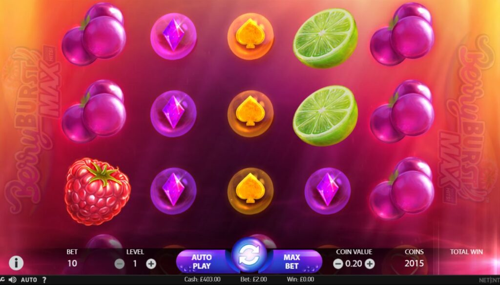 fruity slots games