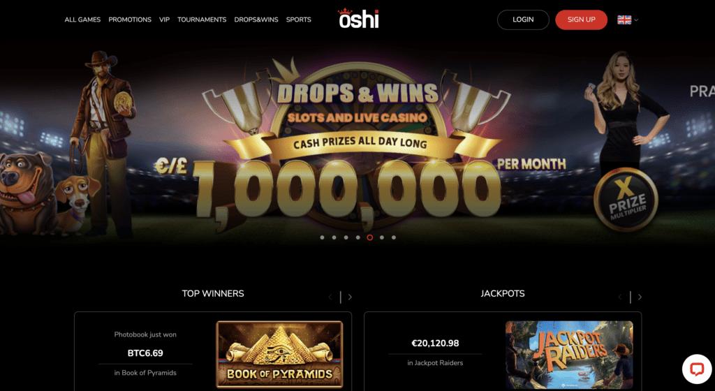 casino oshi review