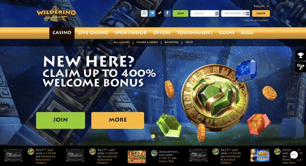 wilderino casino review